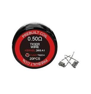 Résistances prémontées Tiger Wire 0,5 - Fumytech