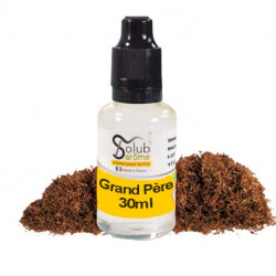 Concentré Tabac Grand Père 30ml par Solubarome