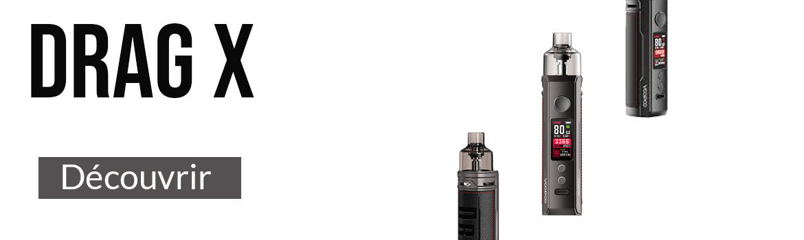 Cigarette électronique Drag X Silver Smok