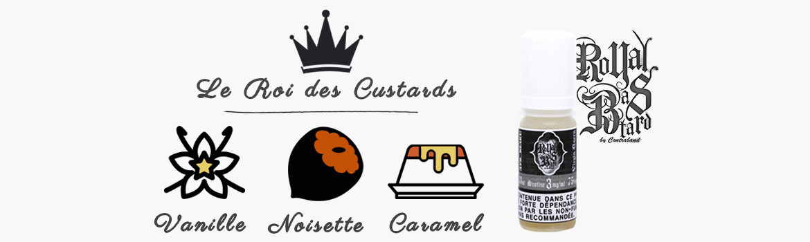 Royal Bastard, le roi des custards !
