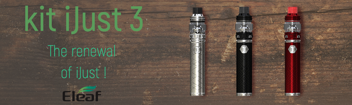 Discover the new iJust 3 !