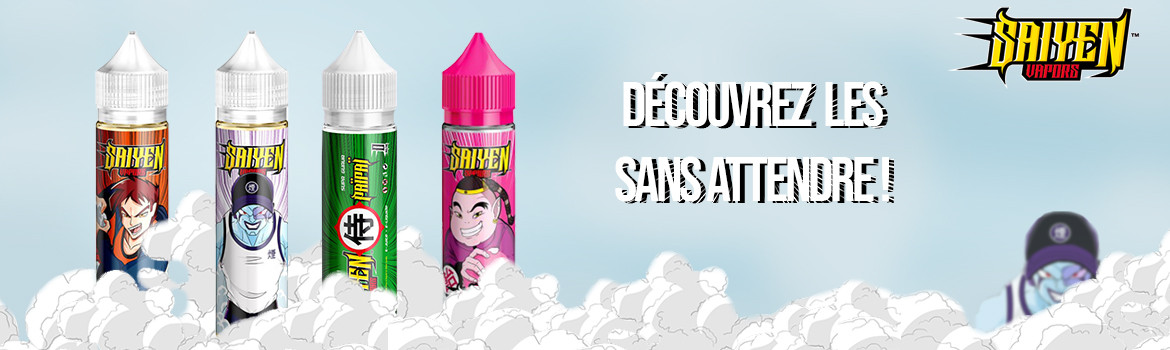 Discover the new juices by Saiyen Vapors!